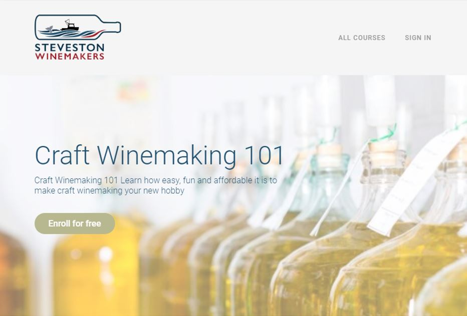 Craft Winemaking 101 - Free Virtual Course