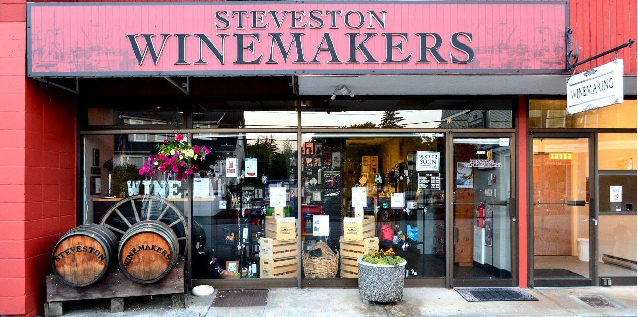 Steveston Winemakers Store Front