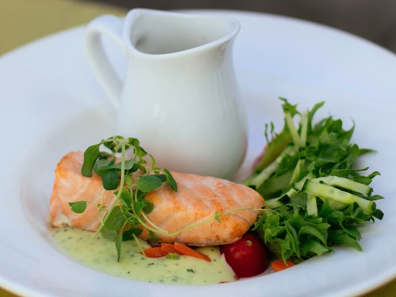 Cooking With Wine – Poached Salmon