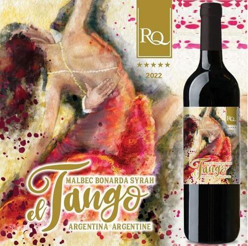 RQ22 El Tango Malbec Bonarda Syrah