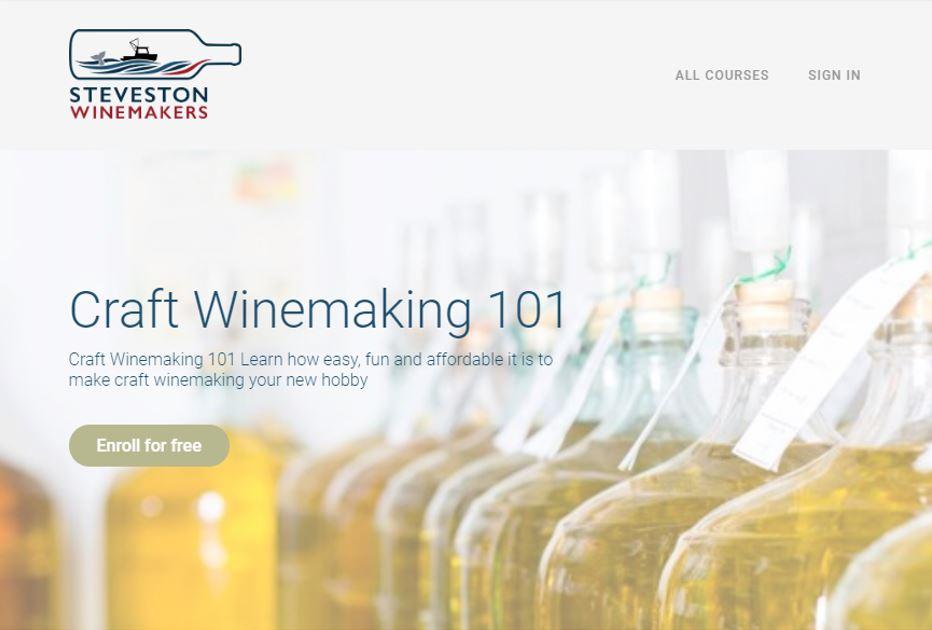Craft Winemaking 101 – Free Virtual Course