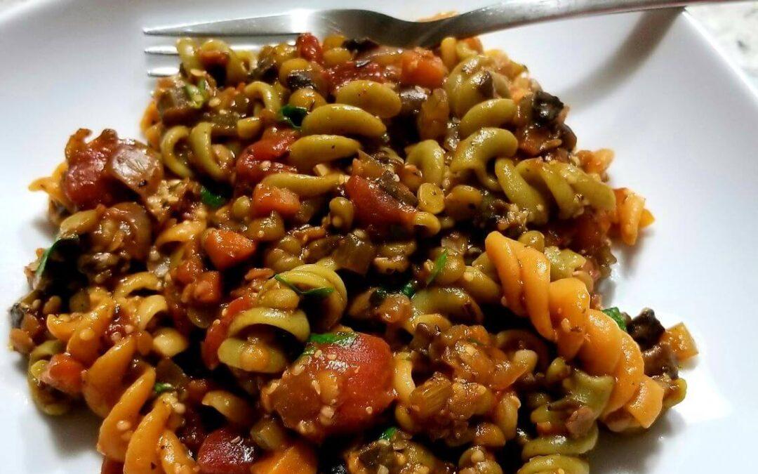 Cooking With Wine – Vegetarian Ragu Pasta